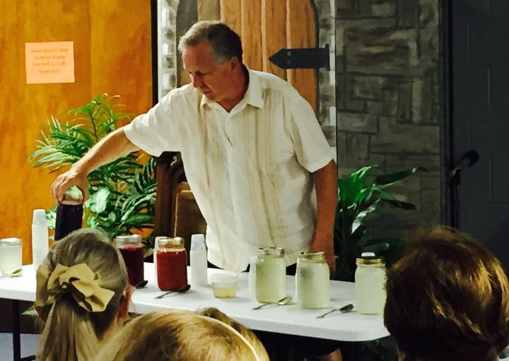 Bill @ WAPF Juice Lecture