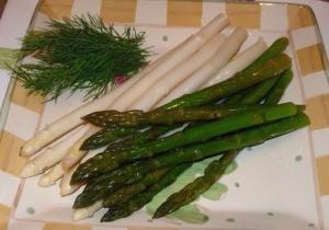 Garlicky Dill Asparagus1