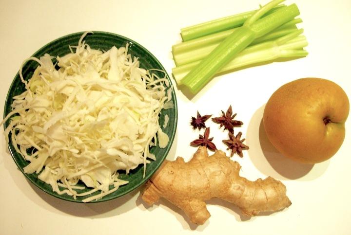 Asian Pear-Ginger Slaw