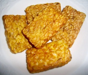 Tempeh: Fried