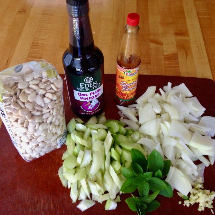 Hot & Sour Lima Bean Soup